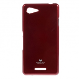 Θήκη Sony Xperia E3 Jelly Case Mercury - SON XPERIA E3-Red