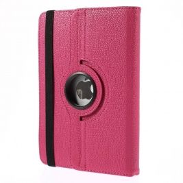 Θήκη Universal Tablet 9.0-10-0 inch 360 Degree Rotary PU Leather case - Rose