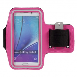 Θήκη μπράτσου Running Sports Armband Arm Holder Case for Samsung Galaxy for S7 edge/ S6 edge+ / Note 5 - Rose