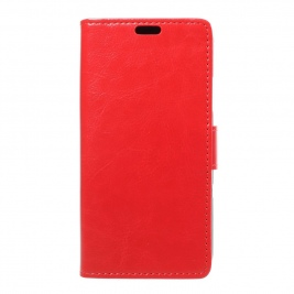 Θήκη iphone X Leather Wallet Case- Red